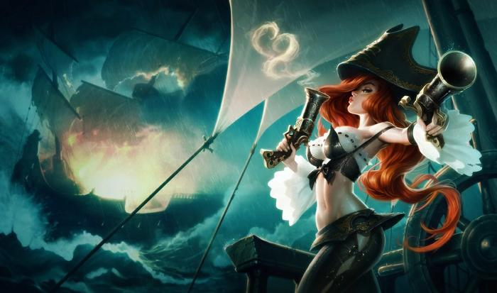 Miss Fortune from League of Legends.