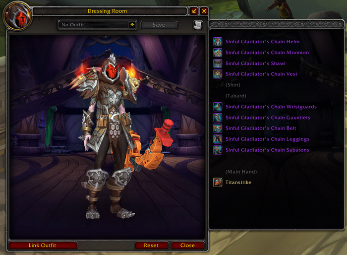 The new World of Warcraft Dressing Room feature in patch 9.1.5, which allows players to share their Transmog sets with others either in-game or online.