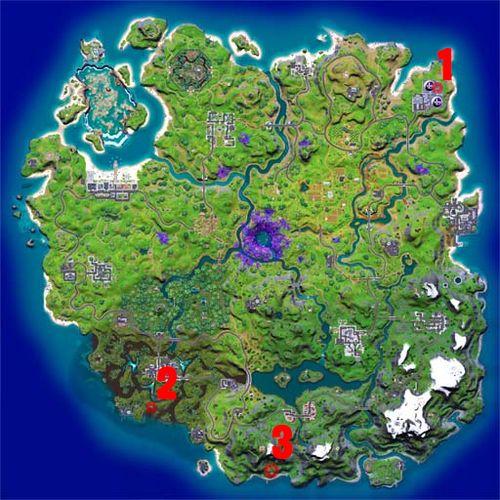 Fortnite character mindwipe locations