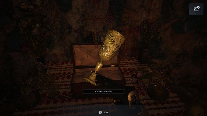 The Cesare's Goblet item in Resident Evil Village