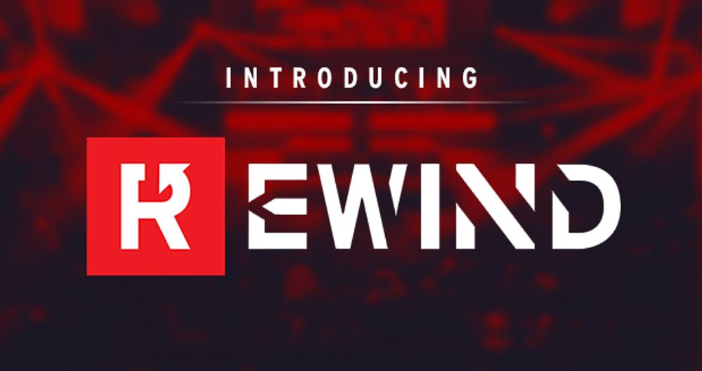 Introducing Gfinity Rewind
