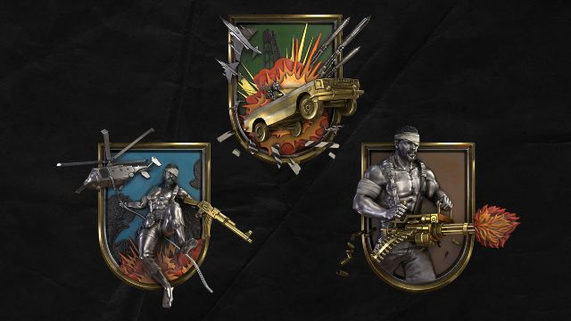 80s Call of Duty Medals