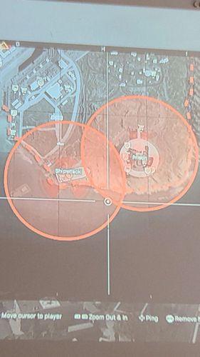 Warzone Radiation Zones Prison Shipwreck Nuke event