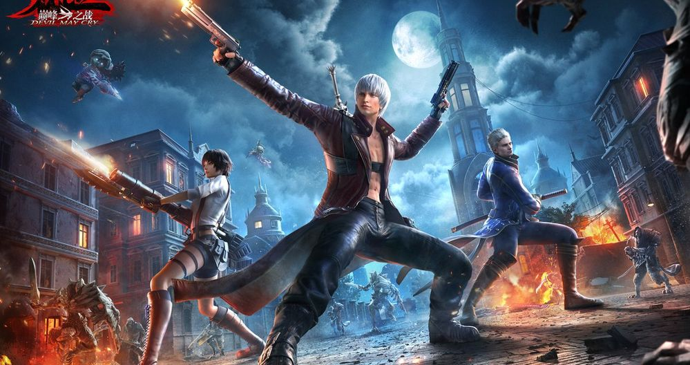 An English Version of the Devil May Cry Mobile Game May Have Just Leaked