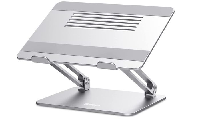 Best laptop stand Boyata, product image of silver laptop stand