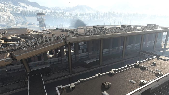 Warzone Zombies Airport