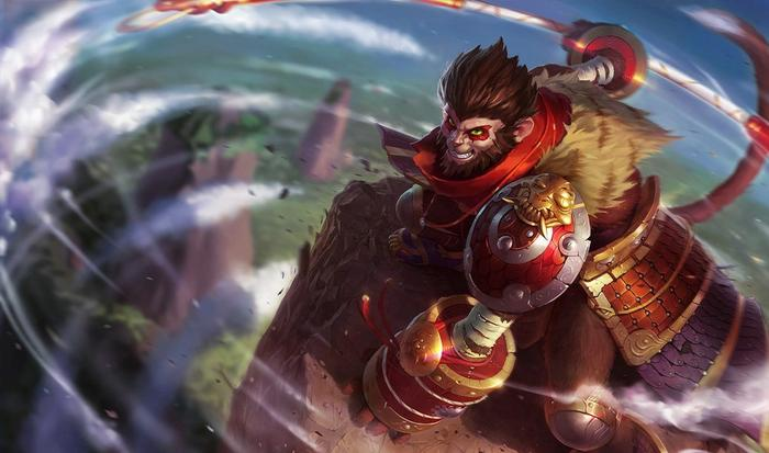 Wukong from League of Legends.