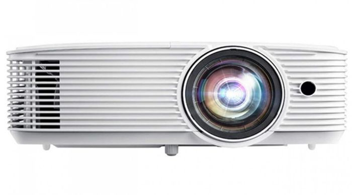 best projector, product image of a white projector
