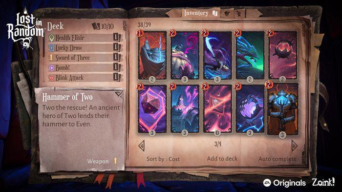 Lost in Random - Card deck