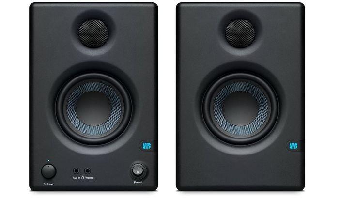 Best desktop speakers PreSonus two black speakers