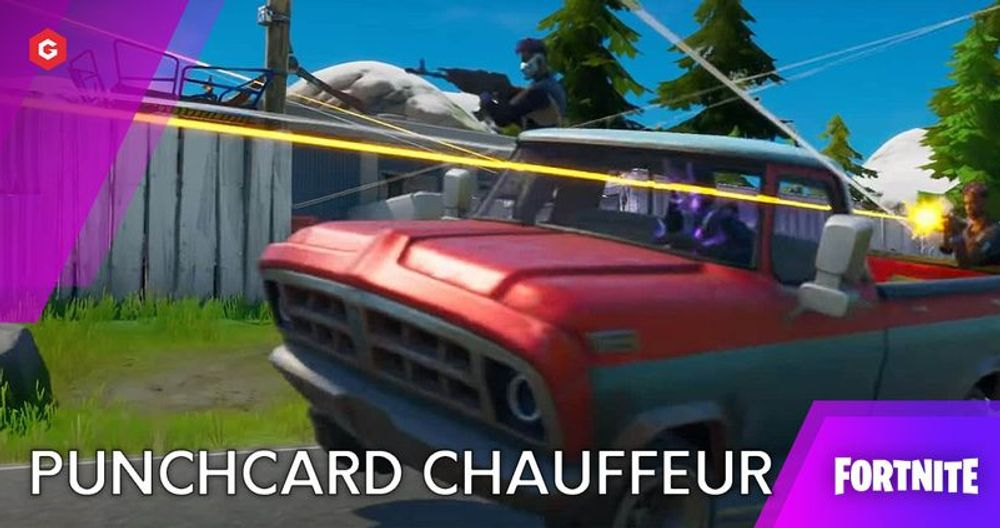 Fortnite Chapter 2 Season 3: Punchcard Chauffeur Challenges - v13.40