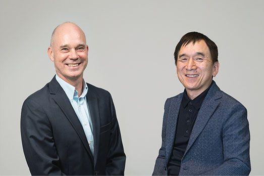 Bonnier (left) and Ishihara (right)