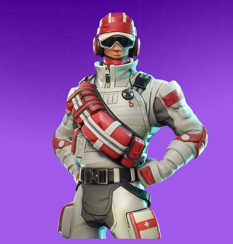 The Triage Trooper Fortnite skin was away from the Fortnite item shop for a good while. It came back to the shop in April this year.