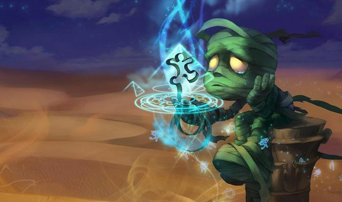 Amumu from League of Legends.