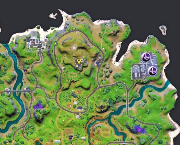 You need to confront the mole here in Fortnite.