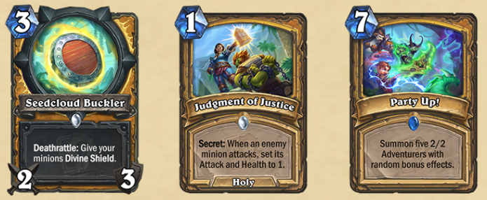 The new Paladin cards.