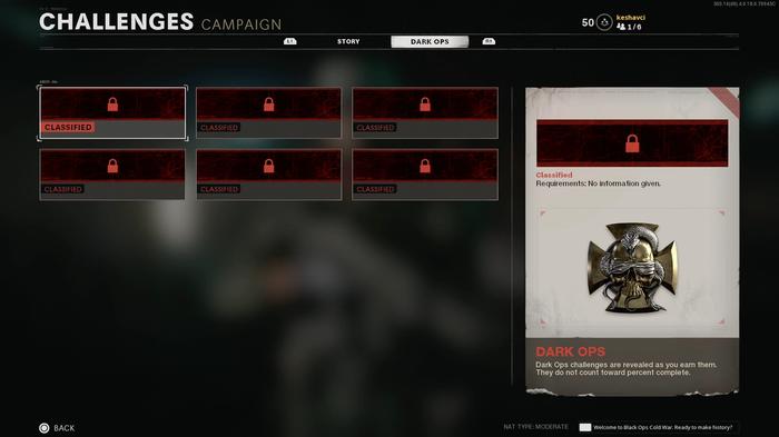 Black Ops Cold War Dark Ops Campaign Challenges