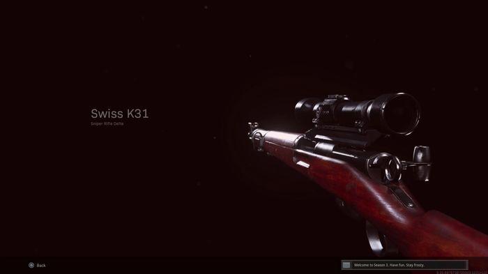 Swiss K31 Warzone