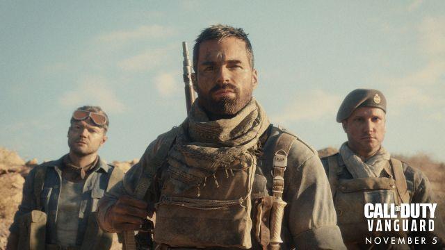 Three World War 2 Soldiers Dressed In Desert Attire