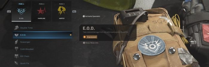 EOD Warzone Perk Season 4