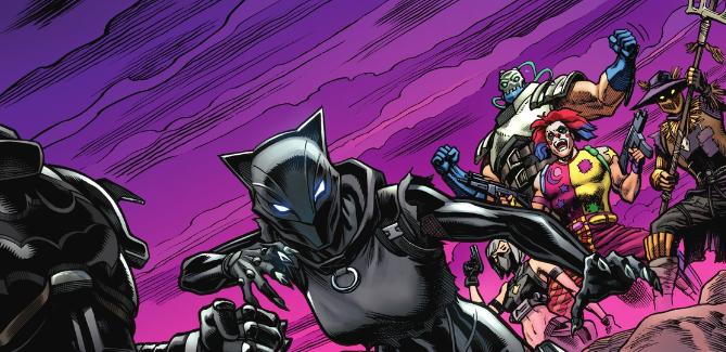 Batman/Fortnite: Zero Point #6 panel