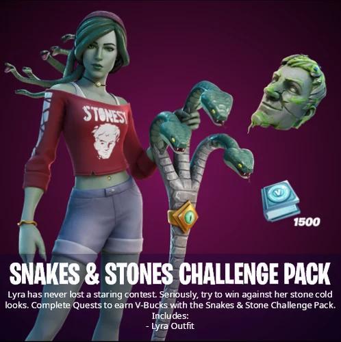 Fortnite Snakes & Stones Challenge Pack