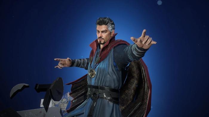 Doctor Strange in Marvel Future Revolution.