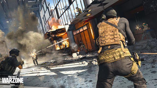 Warzone Operators Fighting Inside Verdansk Airport