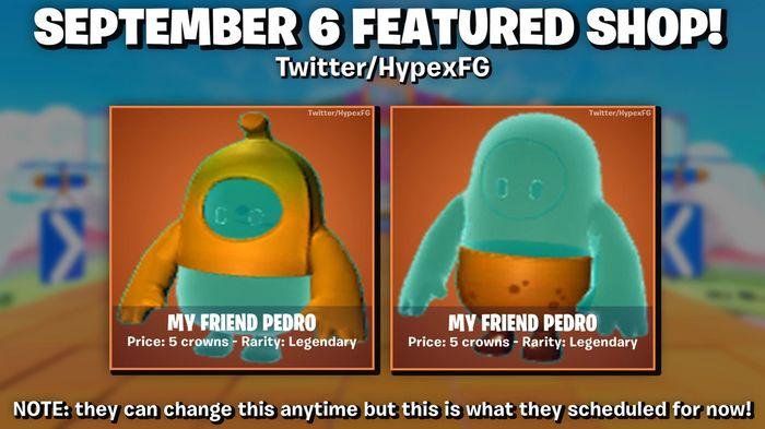 Fall Guys They Call Me Pedro Skin