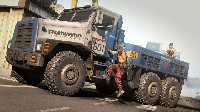 Warzone solos Cargo Trucks removed