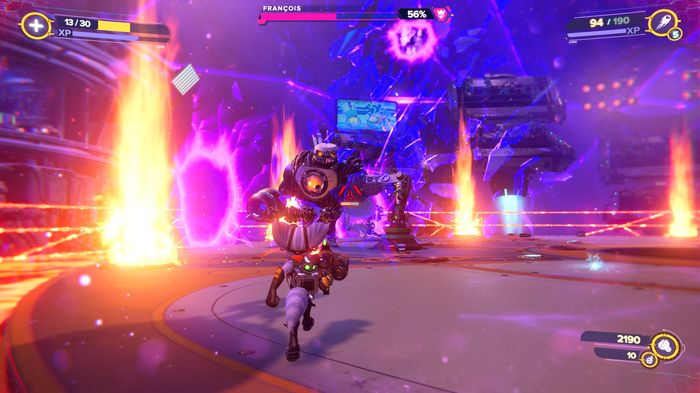 Ratchet and Clank Rift Apart Francois boss fight