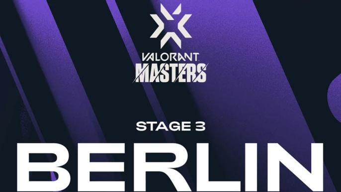This image is the official VCT Masters 3 Berlin poster