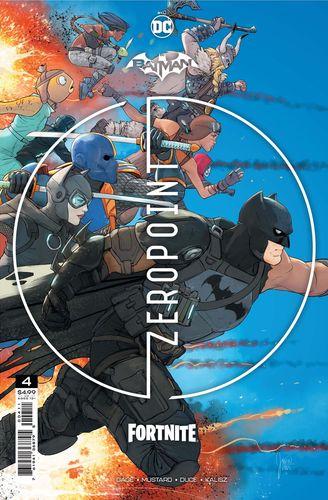 Batman/Fortnite: Zero Point #4 cover