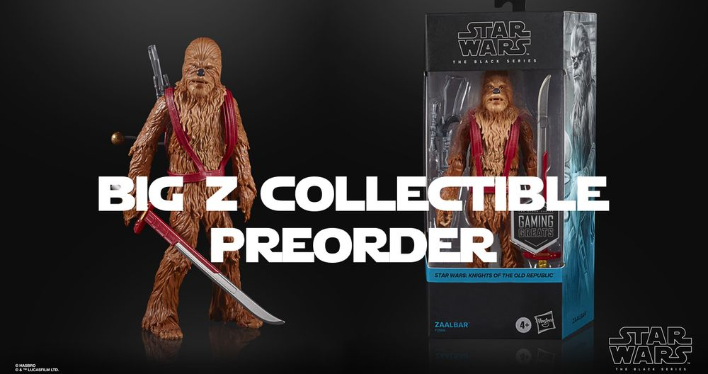 """Star Wars KOTOR Collectable Available For Pre-Order """"Zaalbar"""""""