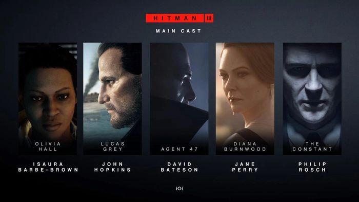 Hitman 3 Main Cast