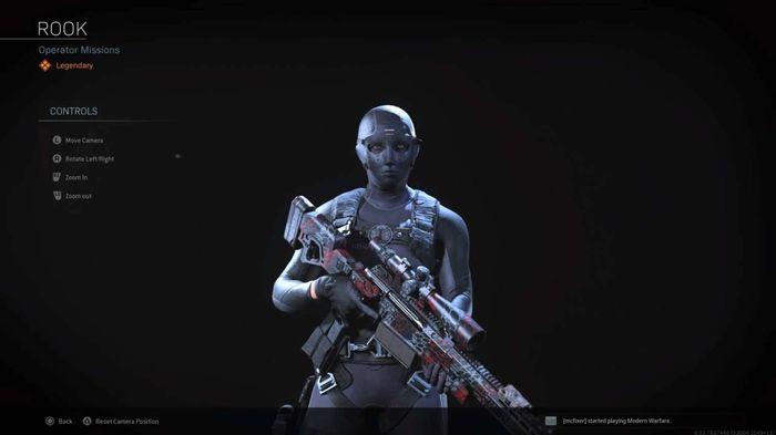 Rook Warzone Operator Skin
