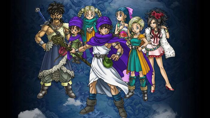 Image showing Dragon Quest 5 characters