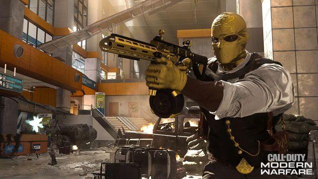 Call of Duty Modern Warfare Bare Bones playlist