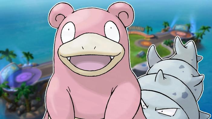 Pokémon Unite Slowbro portrait.