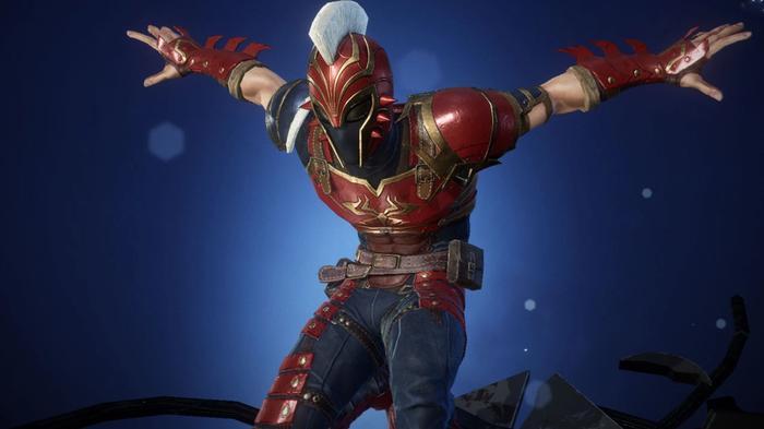The Sakaar Spider-Man costume in Marvel Future Revolution.