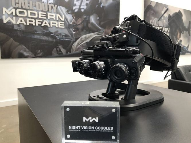 modern warfare 2019 pre-order night vision