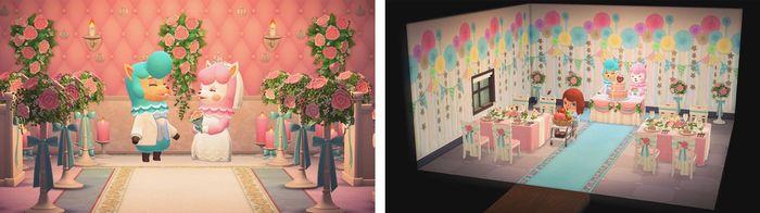 Animal Crossing: New Horizons' wedding event