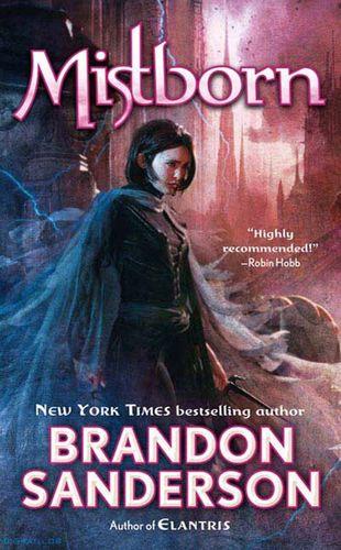 Mistborn novel cover