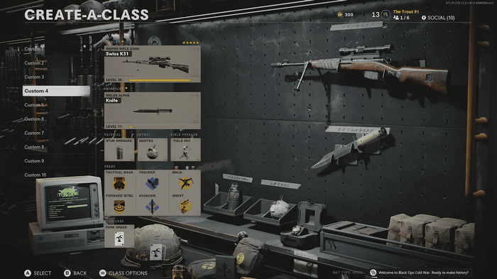 Swiss K31 is a great sniper to get this done!