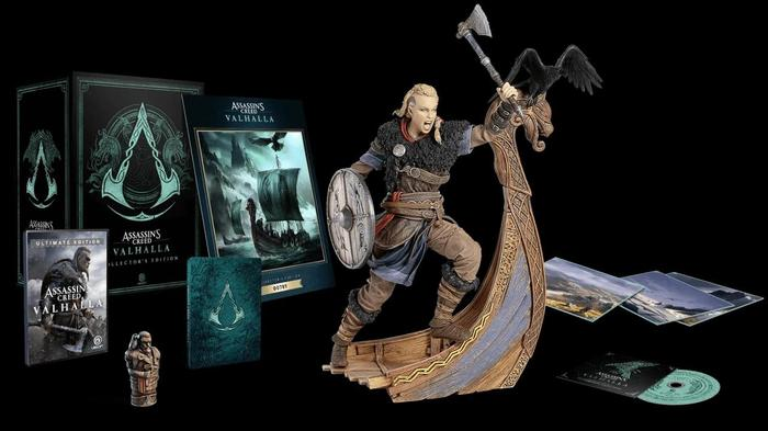 assassins creed valhalla collectors edition statue