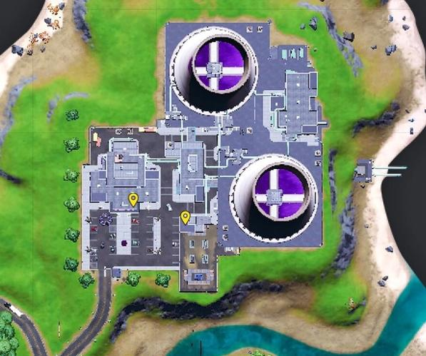Here's where you find the first two books on explosions in Fortnite.