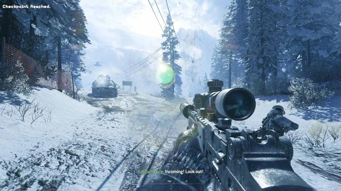 MW2 Campaign Remastered Contingency Veteran
