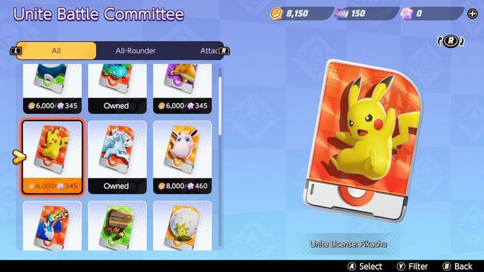 How to obtain Pikachu in Pokémon Unite.