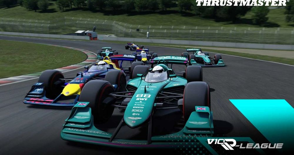 Thrustmaster V10 R-League Moments of the Week: Overtaking in the most unlikely places (Sponsored)