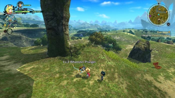 Ni No Kuni 2 overworld map